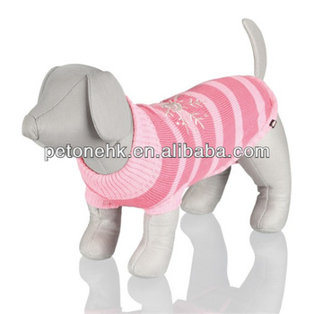 fashion knitted pet sweater