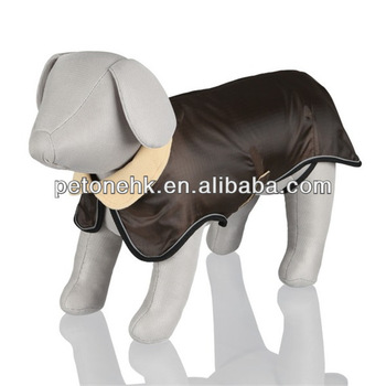 fashion Waterproof Dog Coat with Soft Fleece Lining